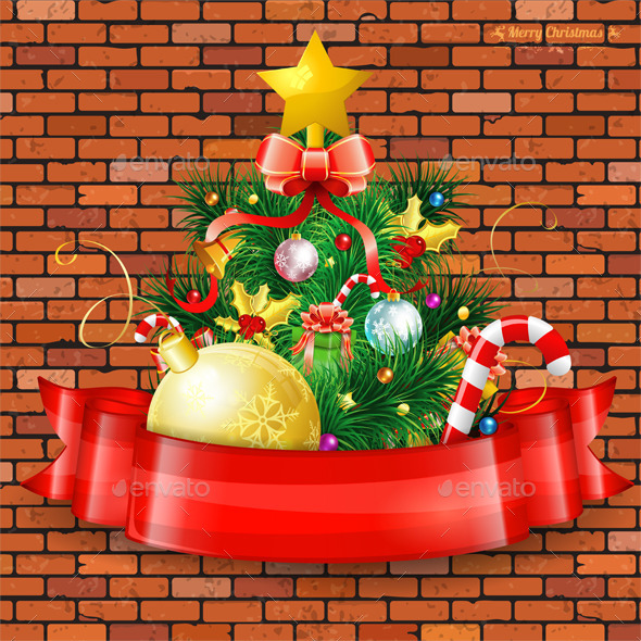 GraphicRiver Christmas Tree 9497074