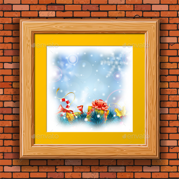 GraphicRiver Christmas Background 9497083