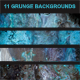 11 Grunge Backgrounds - GraphicRiver Item for Sale