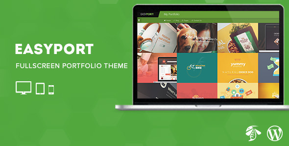 ThemeForest Easyport Fullscreen Portfolio Theme 9432005