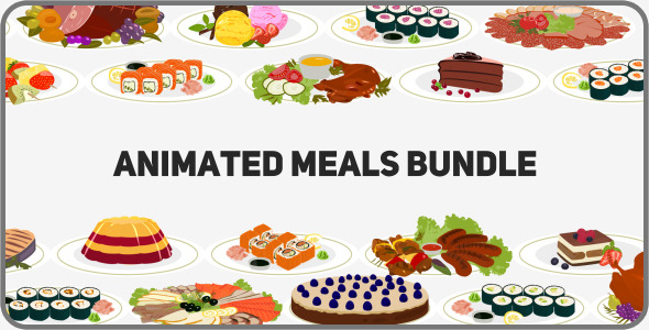 Animated Meals Bundle