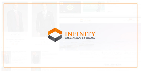 INFINITY Prestashop theme with Blog & Theme Editor
