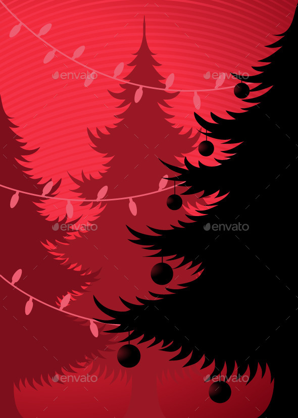 GraphicRiver Christmas Trees 9498494