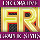 Set of Various Colorful Graphic Styles for Design - GraphicRiver Item for Sale