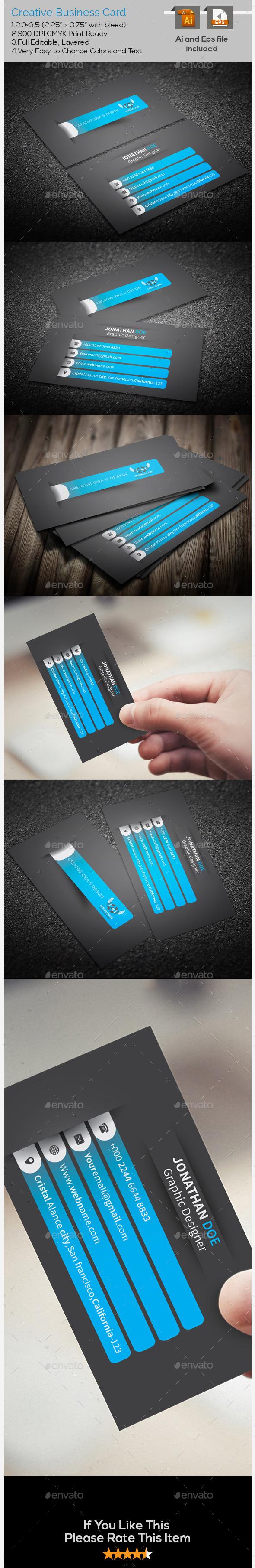 GraphicRiver Creative Business Card 9498671