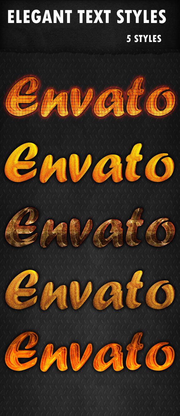 GraphicRiver Elegant Text Styles 9498690