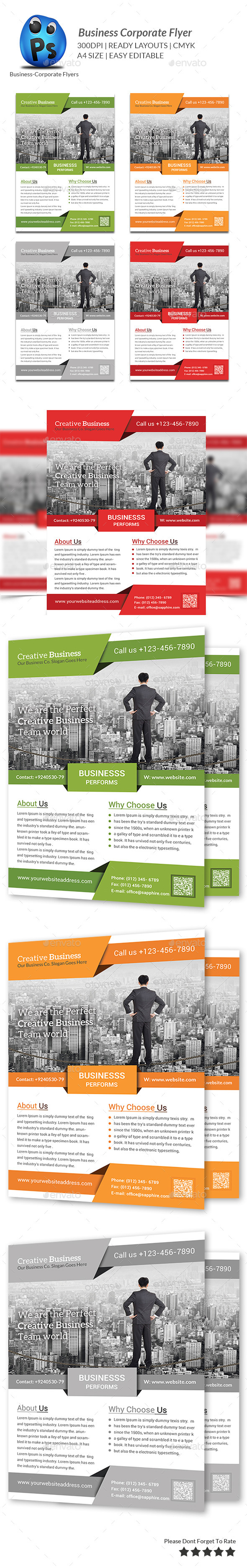 GraphicRiver Best Business Flyers Templates 9498732