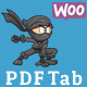 PDF Tab for WOOCOMMERCE - CodeCanyon Item for Sale