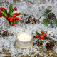 Christmas background with Christmas decorations. - PhotoDune Item for Sale