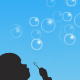 Dynamic bubble effect and illustration - ActiveDen Item for Sale