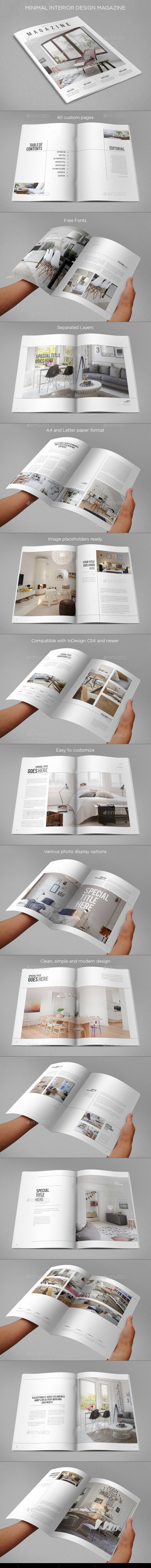 GraphicRiver Minimal Interior Design Magazine 9499179
