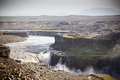Dettifoss Waterfall in Iceland at overcast weather - PhotoDune Item for Sale