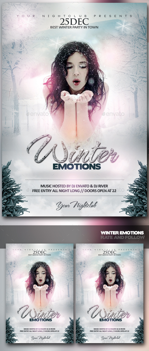 GraphicRiver Winter Emotions 9499469