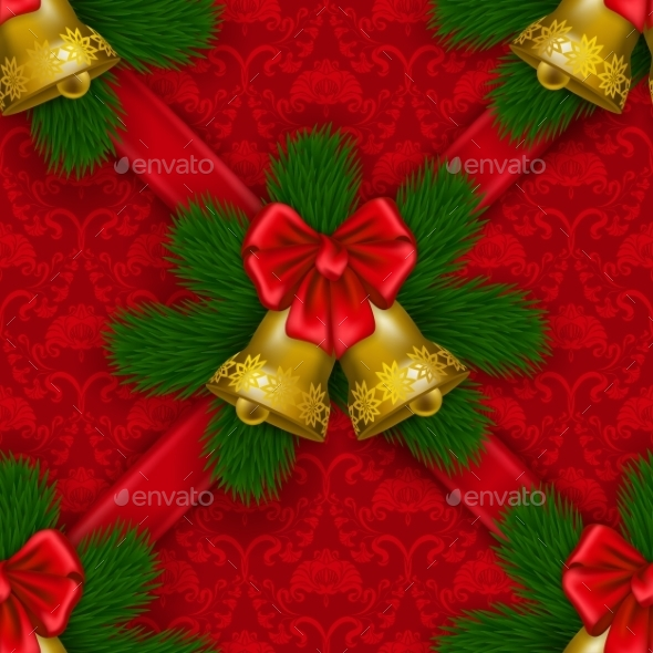 GraphicRiver New Year s Seamless Background 9499559