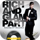 Rich And Glam Party Flyer Template - GraphicRiver Item for Sale