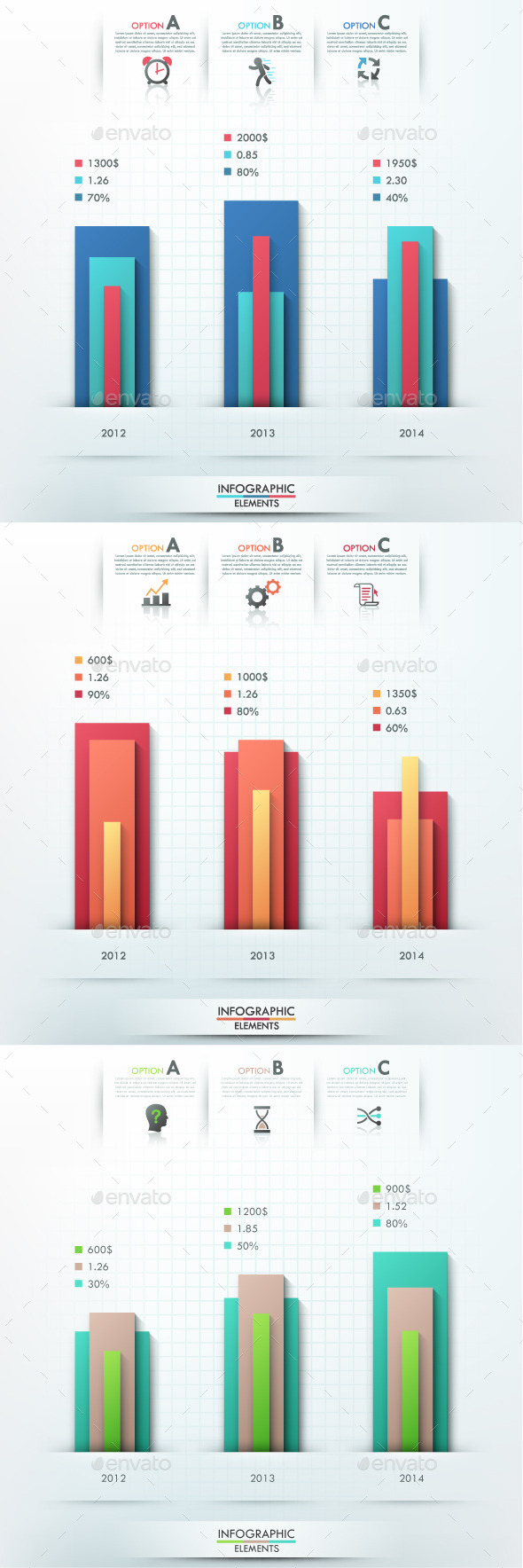 GraphicRiver Smart Infographic Options Template 3 Items 9499676
