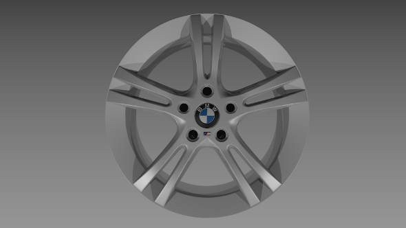BMW rim - 3DOcean Item for Sale