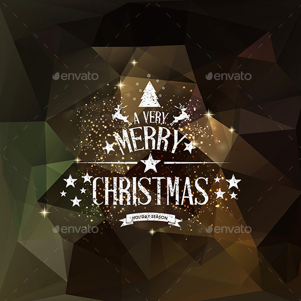 GraphicRiver Christmas Greeting Card Holidays Lettering 9499927
