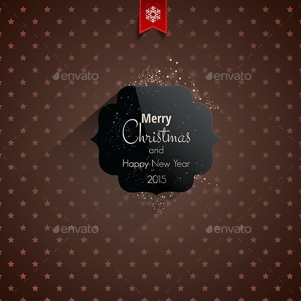 GraphicRiver Christmas Greeting Card Holidays Lettering 9499991