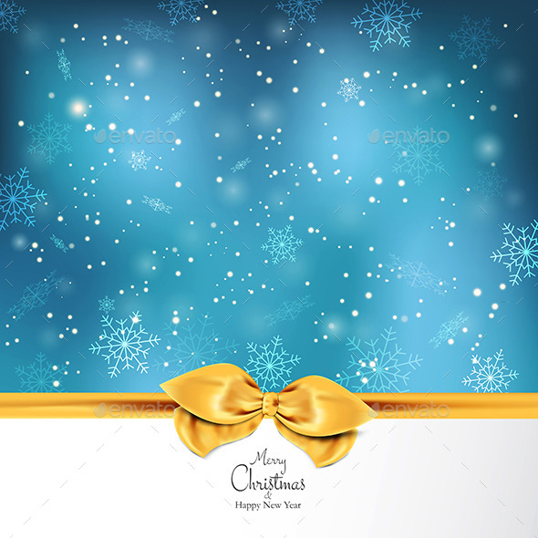 GraphicRiver Elegant Christmas Background 9499994
