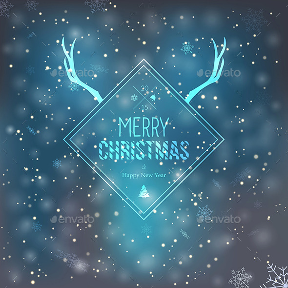 GraphicRiver Merry Christmas and Happy New Year Greeting Card 9499998
