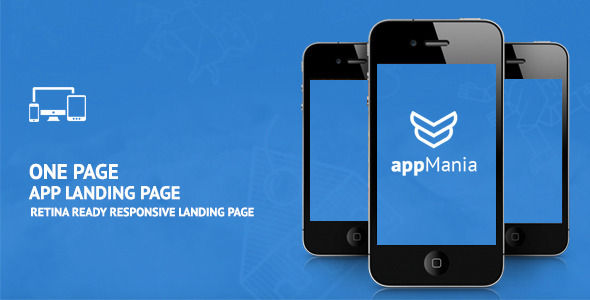 ThemeForest AppMania Simple App Landing Page 9447532