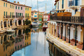 Street canals in Port Grimaud, France - PhotoDune Item for Sale