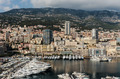 Panoramic view of the port in Monte Carlo, Monaco. Principality - PhotoDune Item for Sale