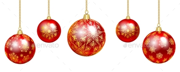 GraphicRiver Colorful Baubles 9500585