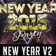 New Year Party Flyer v2 - GraphicRiver Item for Sale