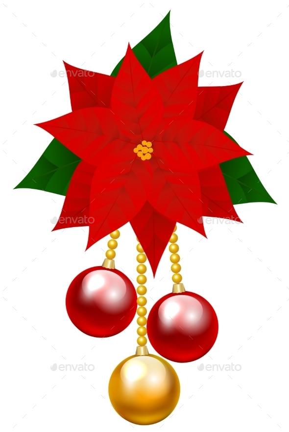 GraphicRiver Poinsettia Flower 9500773