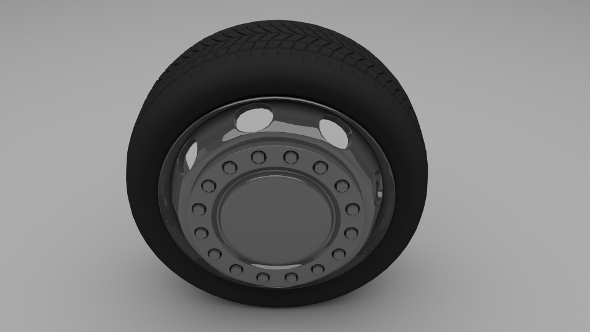 3DOcean Truck Bus Wheel 9502060