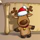 Christmas Elks Papyrus - GraphicRiver Item for Sale