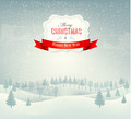 Christmas winter landscape background - PhotoDune Item for Sale