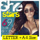 Creative Magazine For Indesign & Photoshop A4 + Letter Size - GraphicRiver Item for Sale