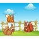Squirrels at the Garden - GraphicRiver Item for Sale