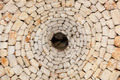 Interior view of the only original roof of a trullo in Alberobel - PhotoDune Item for Sale
