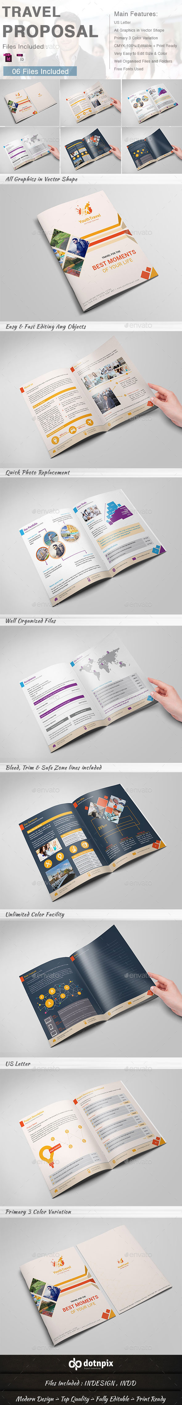 GraphicRiver Travel Proposal 9455530