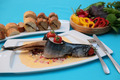 Fish Vegetables with salad - PhotoDune Item for Sale