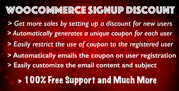 CodeCanyon Woocommerce Signup Discount 9508856