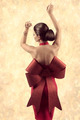 girl with fashion christmas dress - PhotoDune Item for Sale