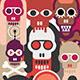 The Skulls  - GraphicRiver Item for Sale