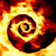4 Fiery Hypnotic Spirals - VideoHive Item for Sale