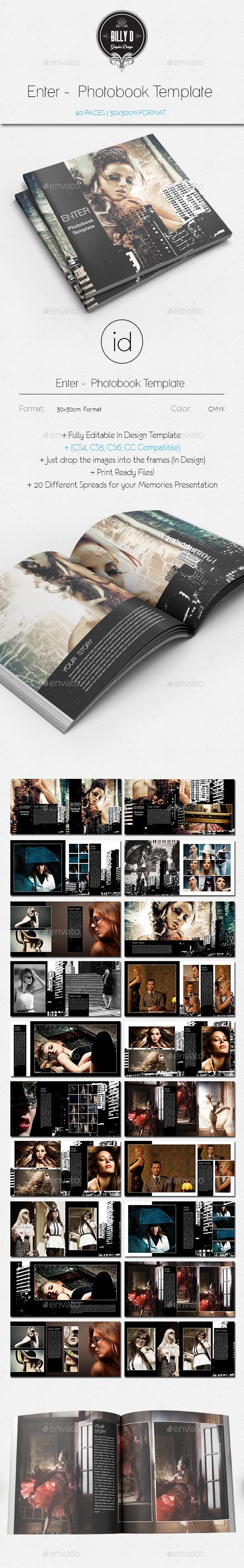 GraphicRiver Enter Photobook Template 9459423