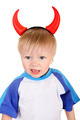 Baby with Devil Horns - PhotoDune Item for Sale