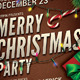Christmas Event/Party Flyer - GraphicRiver Item for Sale