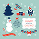 Christmas Graphic Elements Set - GraphicRiver Item for Sale