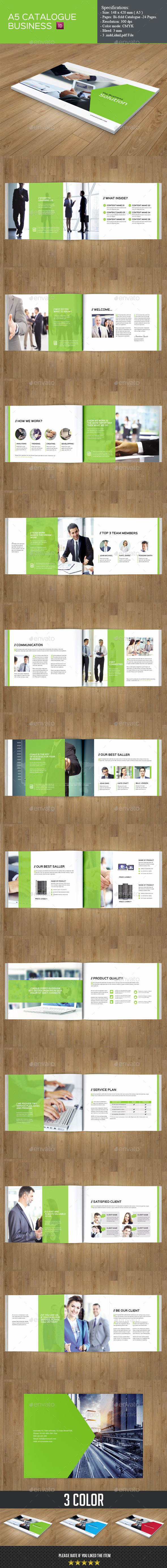 GraphicRiver Business Catalog Template 9510793