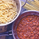 Spaghetti bolognese sauce in pan  - PhotoDune Item for Sale