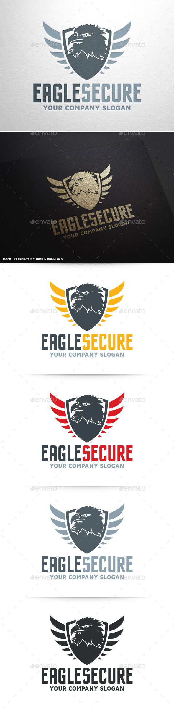 GraphicRiver Eagle Security Logo Template 9511208